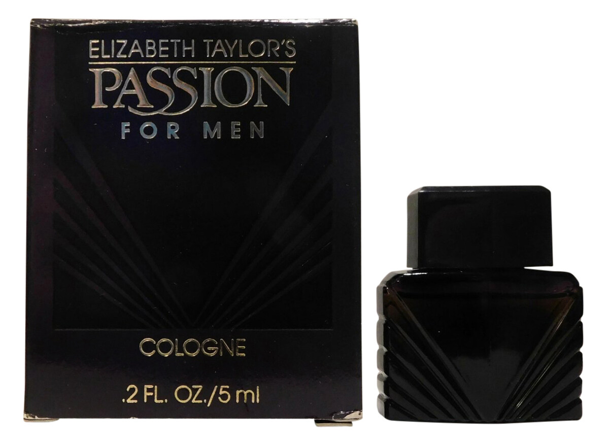 Passion for Men Elizabeth Taylor 1989Cologne
