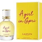 A Girl In Capri (Lanvin)