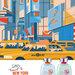 Let's Travel to New York for Man (Mandarina Duck)
