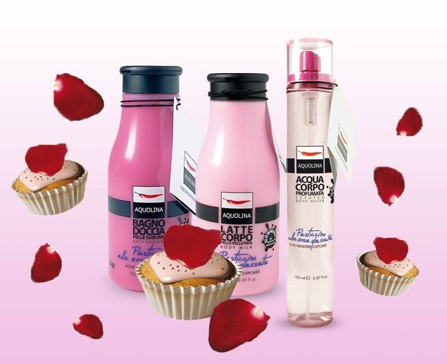 Bagno Doccia Crema Aquolina : Aquolina frosted rose cupcake duftbeschreibung
