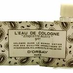 Eau de Cologne d'Orsay / Étiquette Bleue (Eau de Cologne) (d'Orsay)