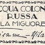 Acqua di Colonia Russa (Gi. Vi. Emme / Visconti di Modrone)