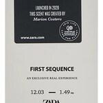 First Sequence (Zara)