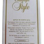 Champagne Style (Lenthéric)