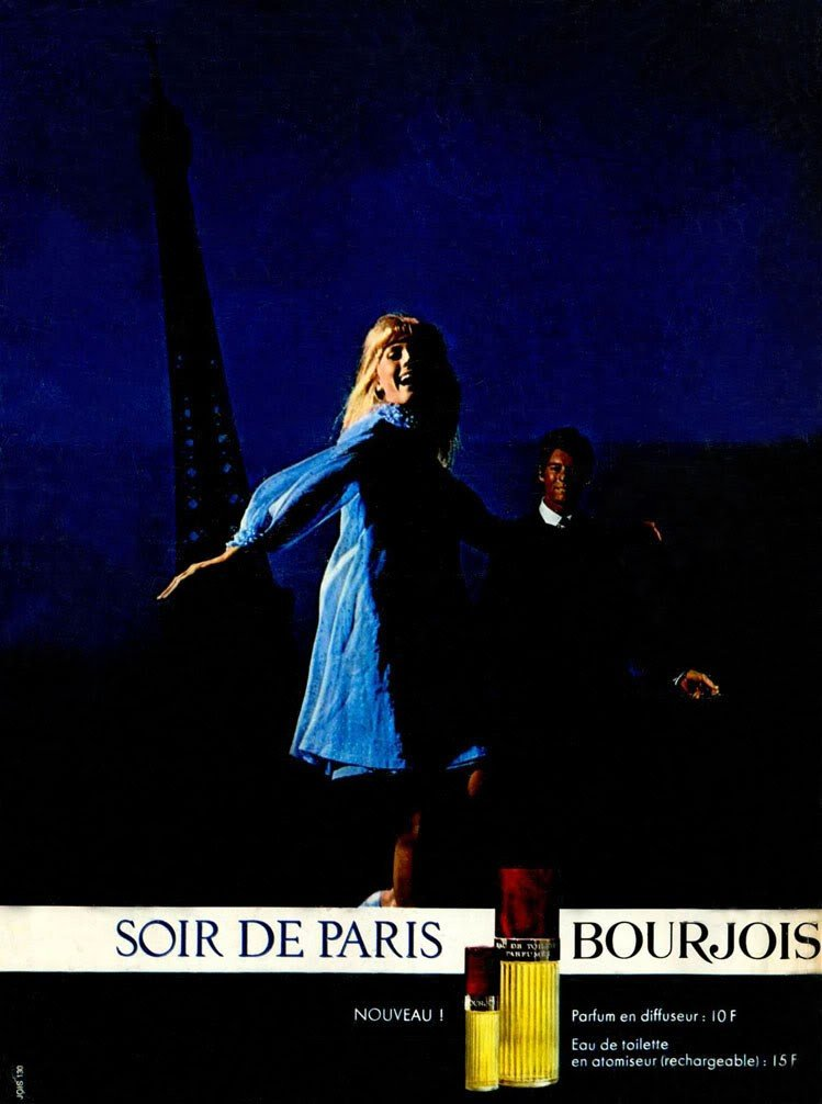 bourjois soir de paris 1928 evening in paris perfume. Black Bedroom Furniture Sets. Home Design Ideas