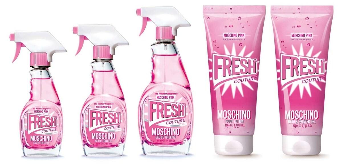Pink Fresh Couture Moschino 2017