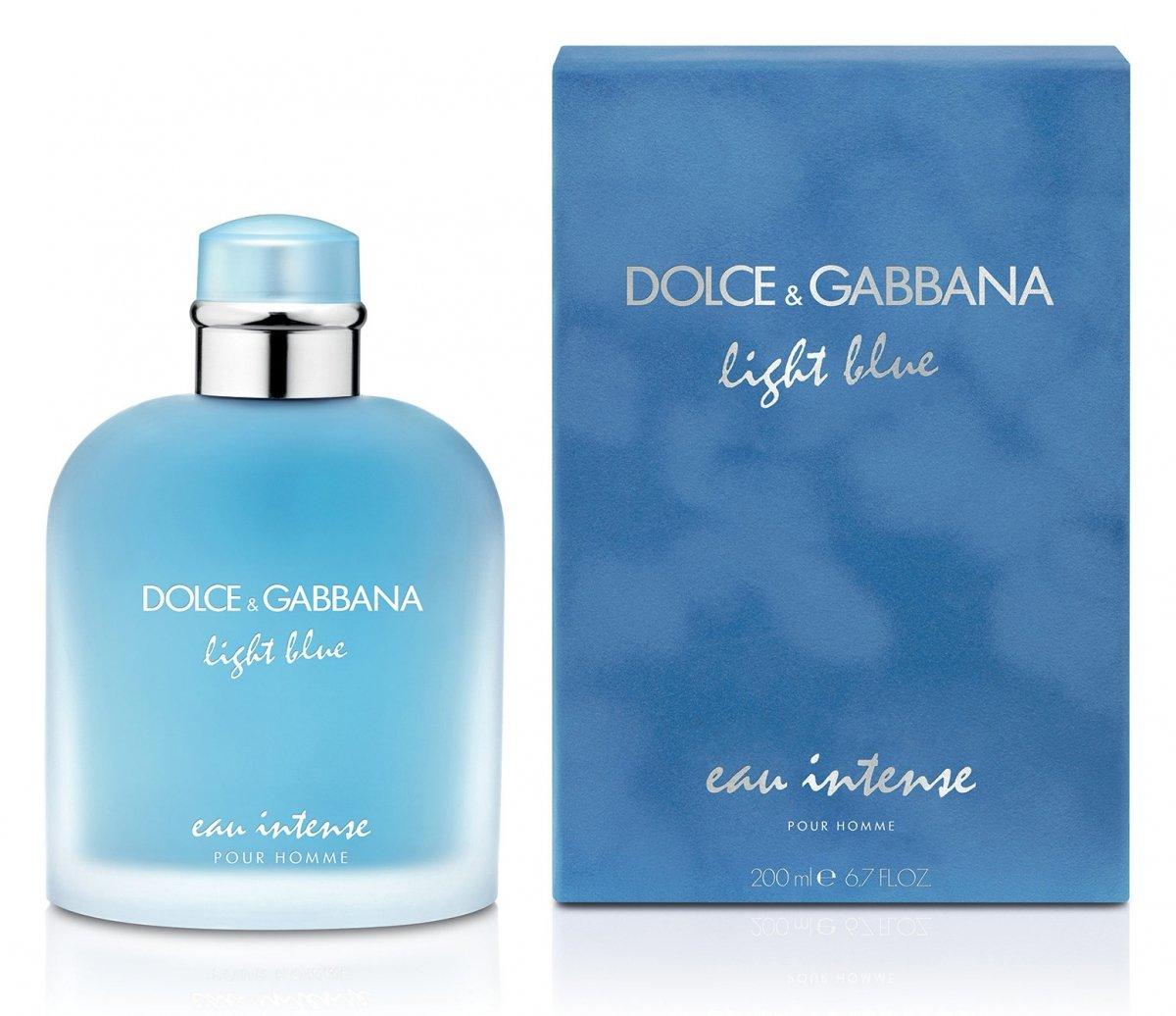 dolce gabbana light blue pour homme eau intense. Black Bedroom Furniture Sets. Home Design Ideas