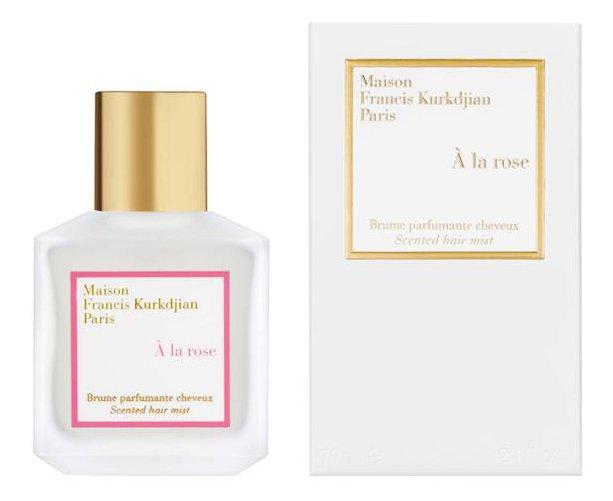 Maison francis kurkdjian la rose brume parfumante cheveux for Autour de la maison rose