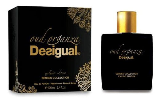 classic style release date recognized brands Senses Collection - Oud Organza Desigual (2015)