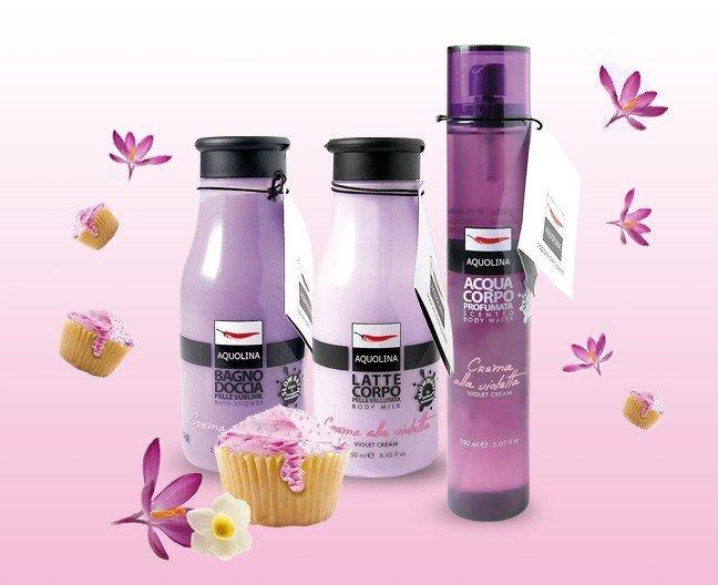 Bagno Doccia Crema Aquolina : Aquolina crema alla violetta violet cream duftbeschreibung
