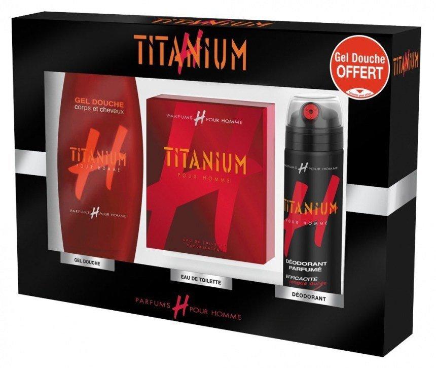 titanium eau de toilette pour homme