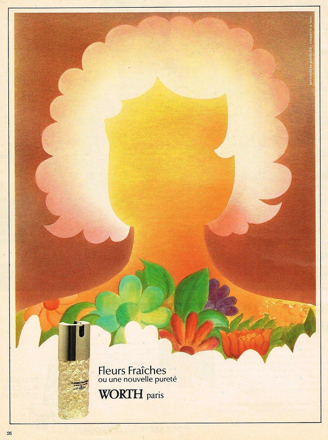 Worth fleurs fra ches 1973 for Fleurs fraiches