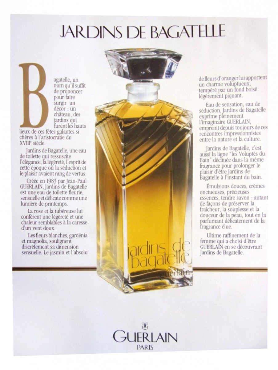 Guerlain jardins de bagatelle eau de parfum duftbeschreibung - Jardin de bagatelle parfum ...