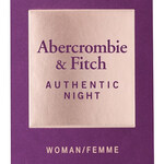 Authentic Night Woman (Abercrombie & Fitch)