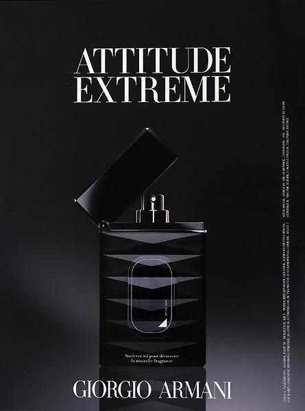Attitude Extrême Extrême Attitude Armani2009 Giorgio DHEWYI29