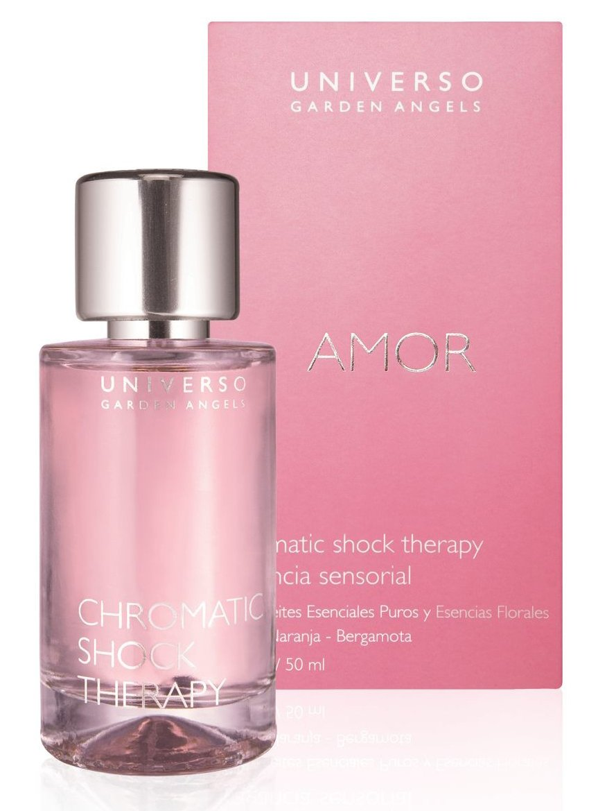 therapy amor perfumes shock angels chromatic garden universo