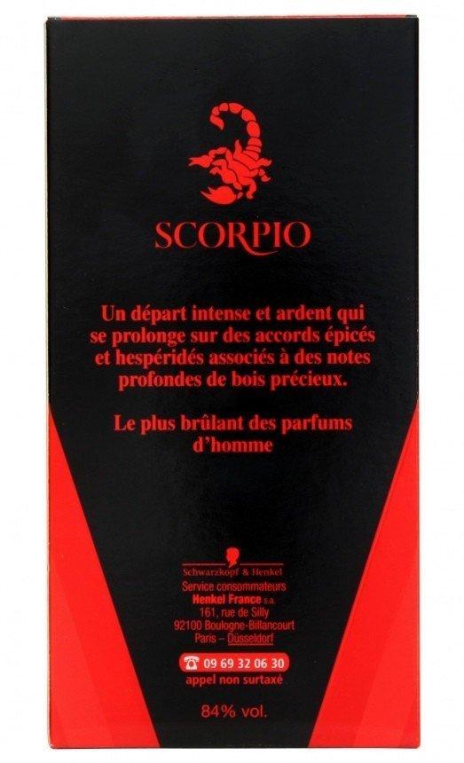 scorpio eau de toilette reviews and rating