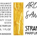 Aroon Sawat (Strangers Parfumerie)