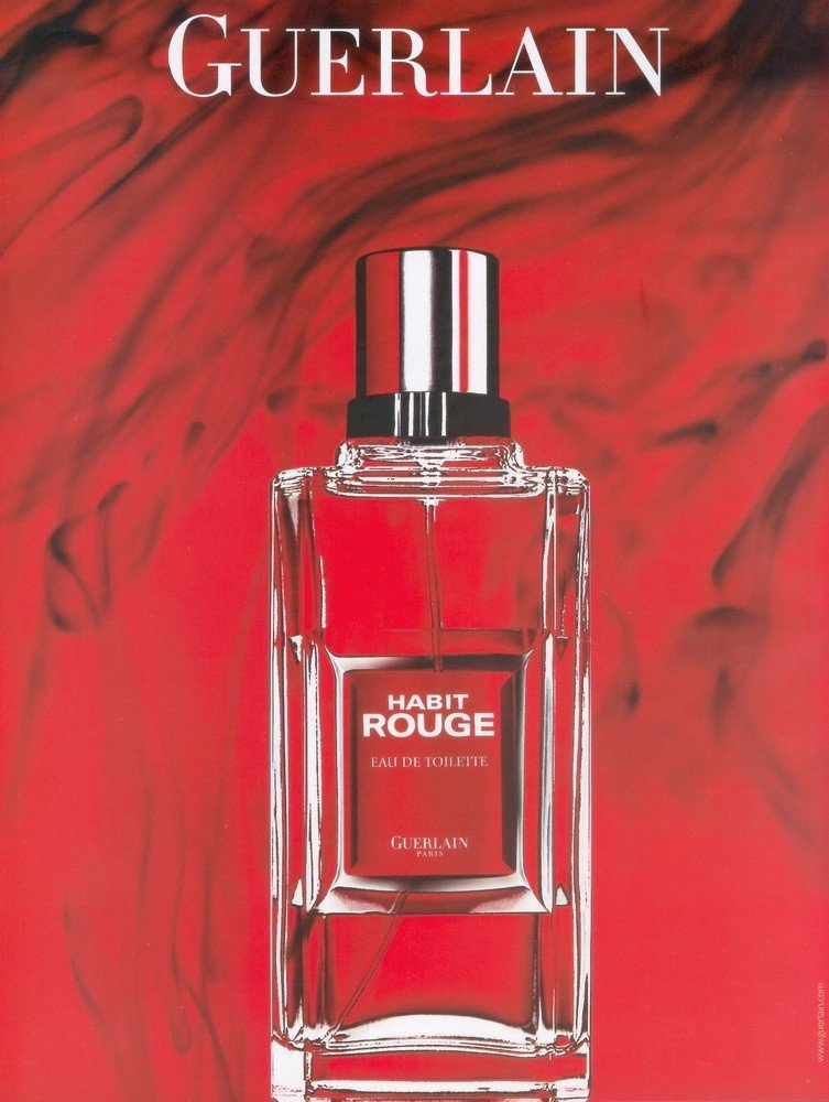Guerlain habit rouge eau de toilette reviews and rating for Arrivee d eau toilette