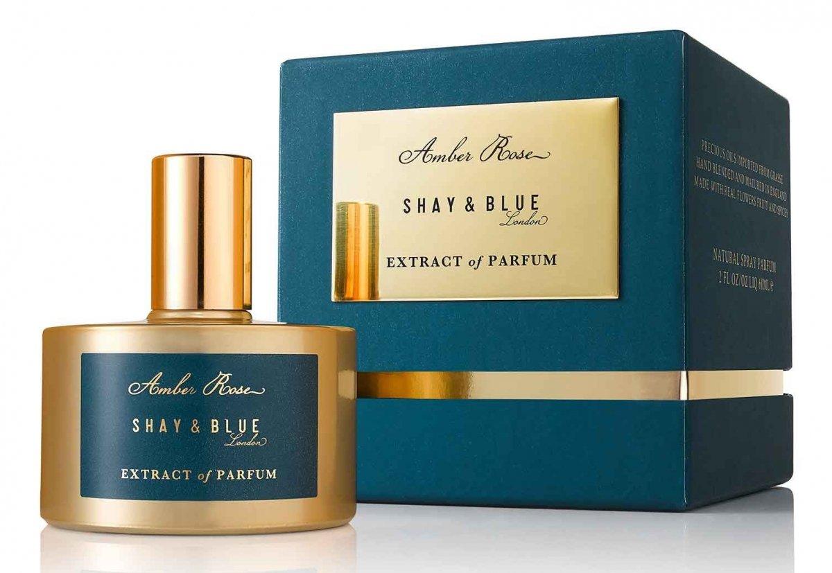 shay blue amber rose extract of parfum duftbeschreibung. Black Bedroom Furniture Sets. Home Design Ideas