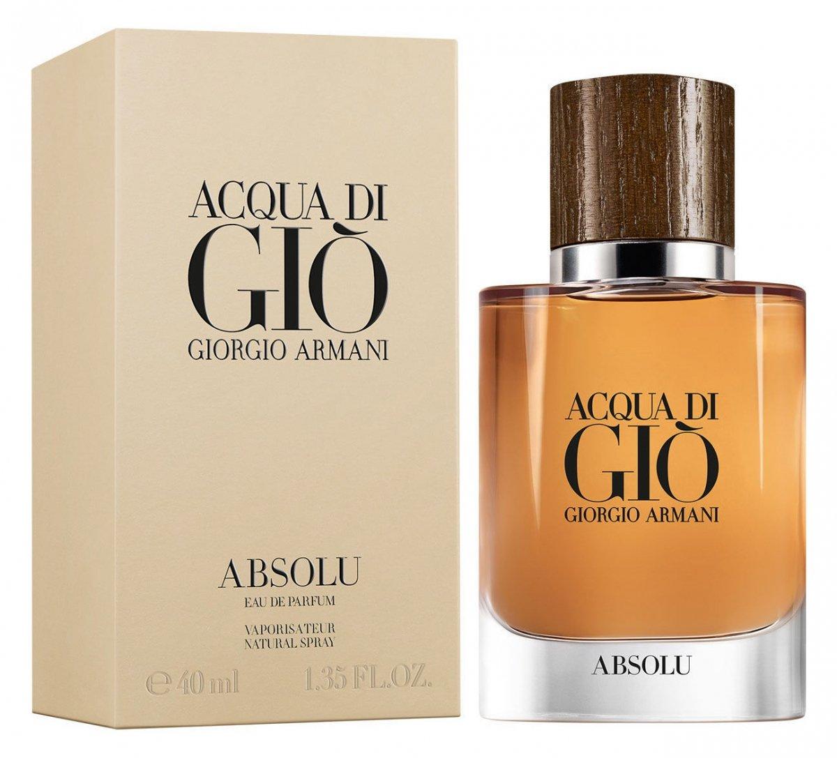 Giorgio Armani Acqua Di Giò Absolu Duftbeschreibung