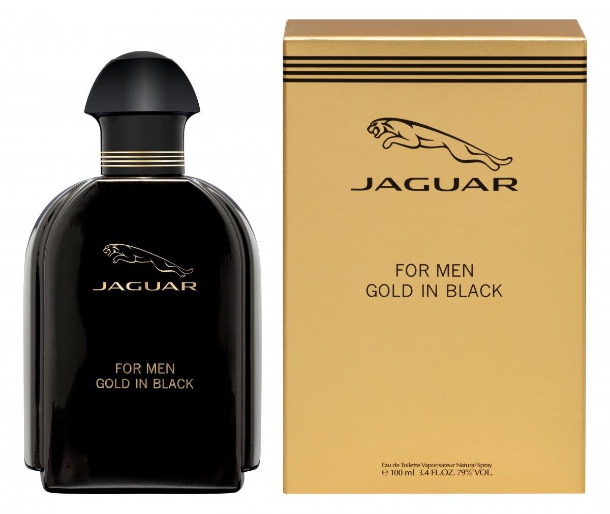 Jaguar For Men: Jaguar - For Men Gold In Black