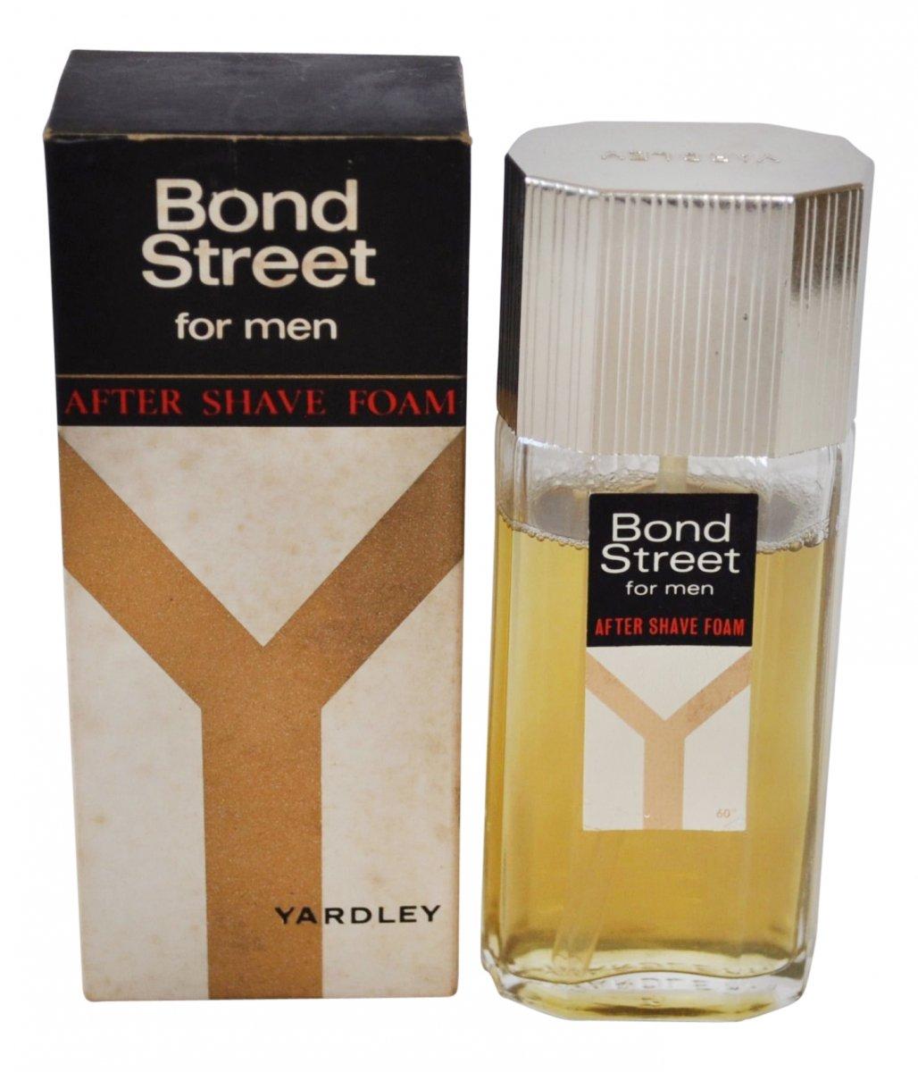 Yardley Bond Street for Men After Shave Foam