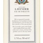 Centuries - Lavender (Caswell-Massey)