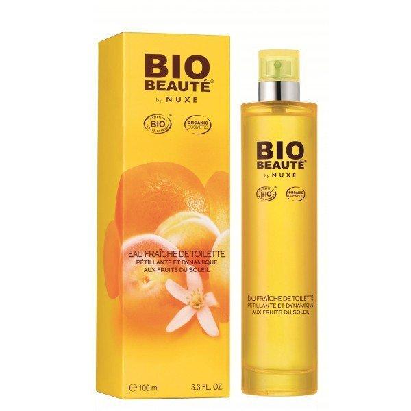 nuxe bio beaut 233 eau fra 238 che de toilette p 233 tillante et dynamique aux fruits de soleil 2009