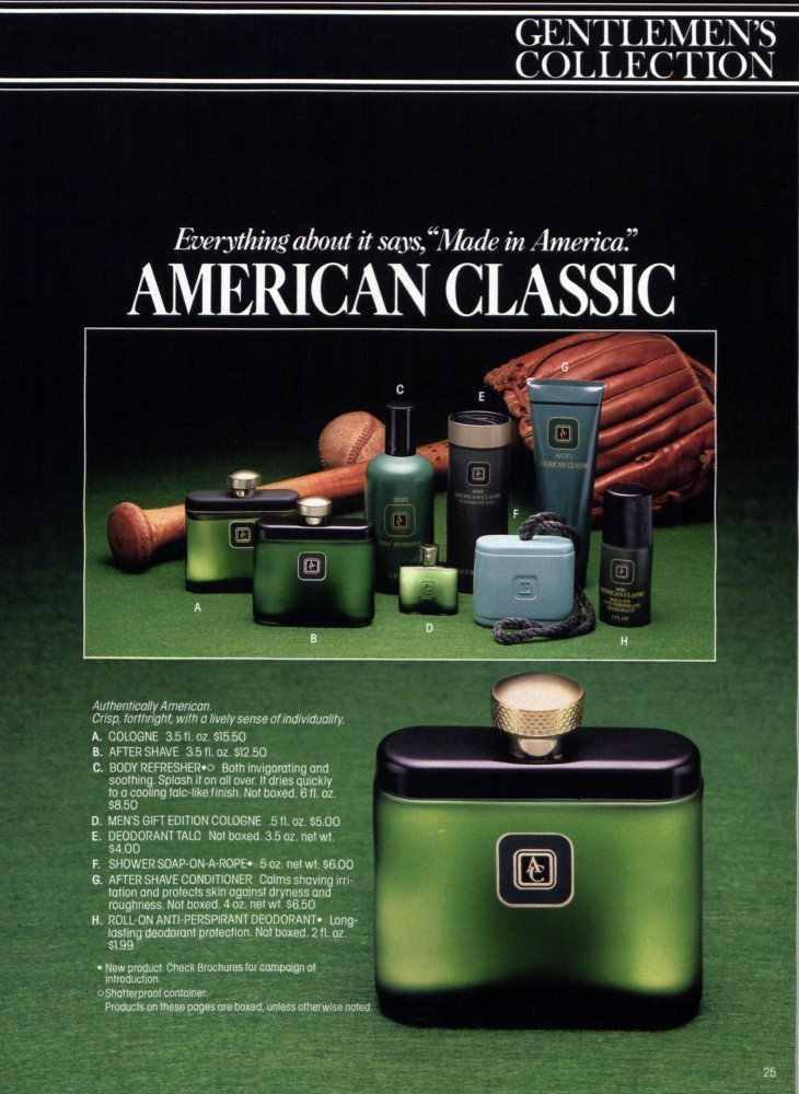 Avon american classic reviews and rating for American classic