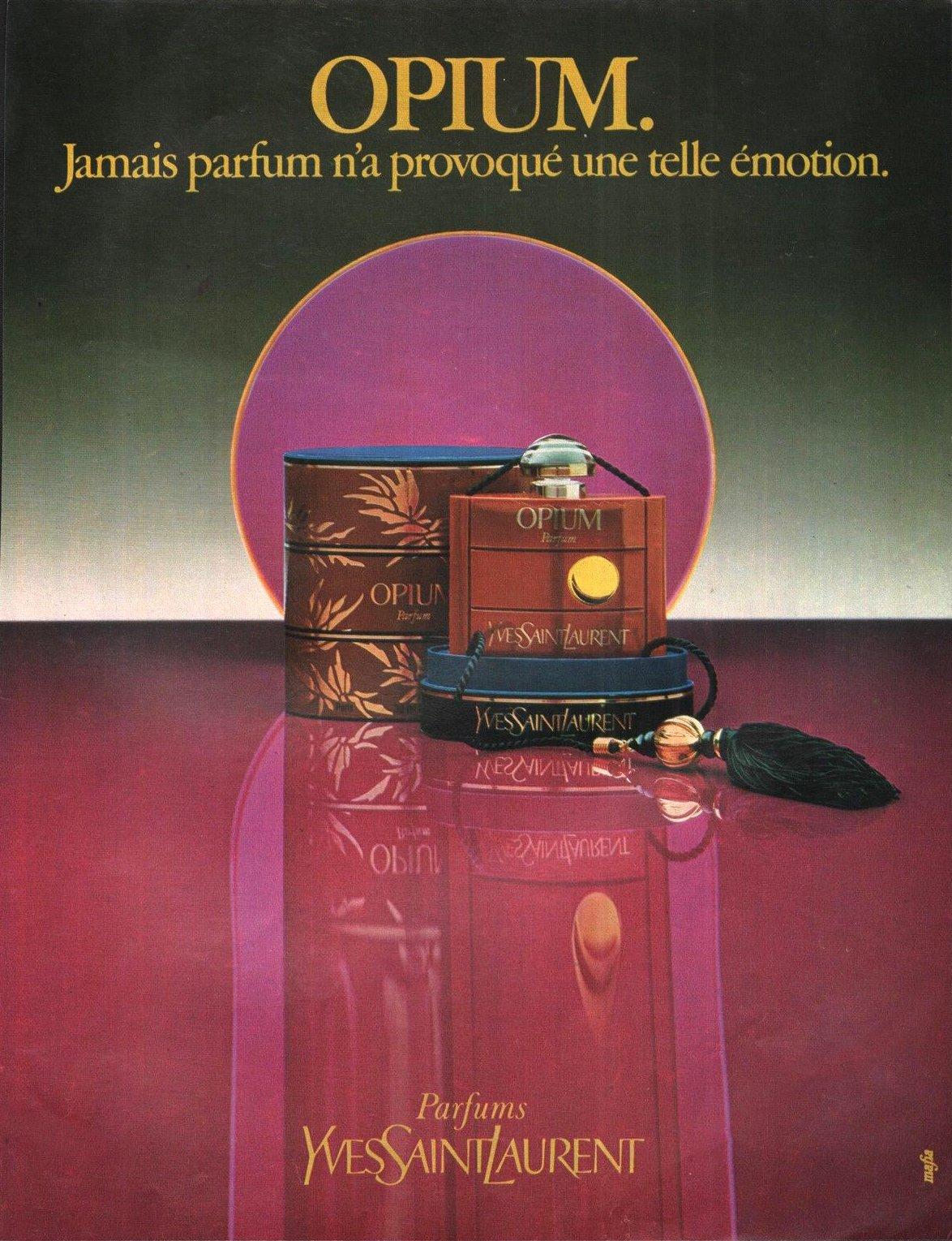 yves laurent opium 1977 eau de toilette reviews